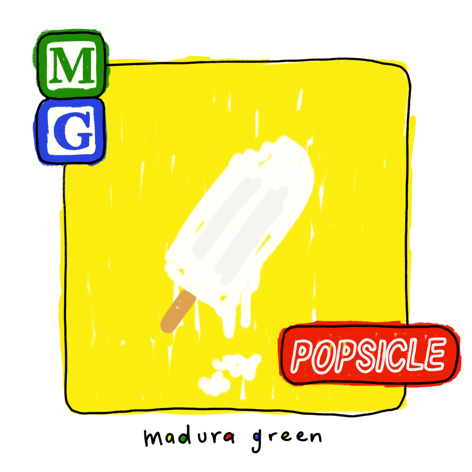 Madura Green Popsicle